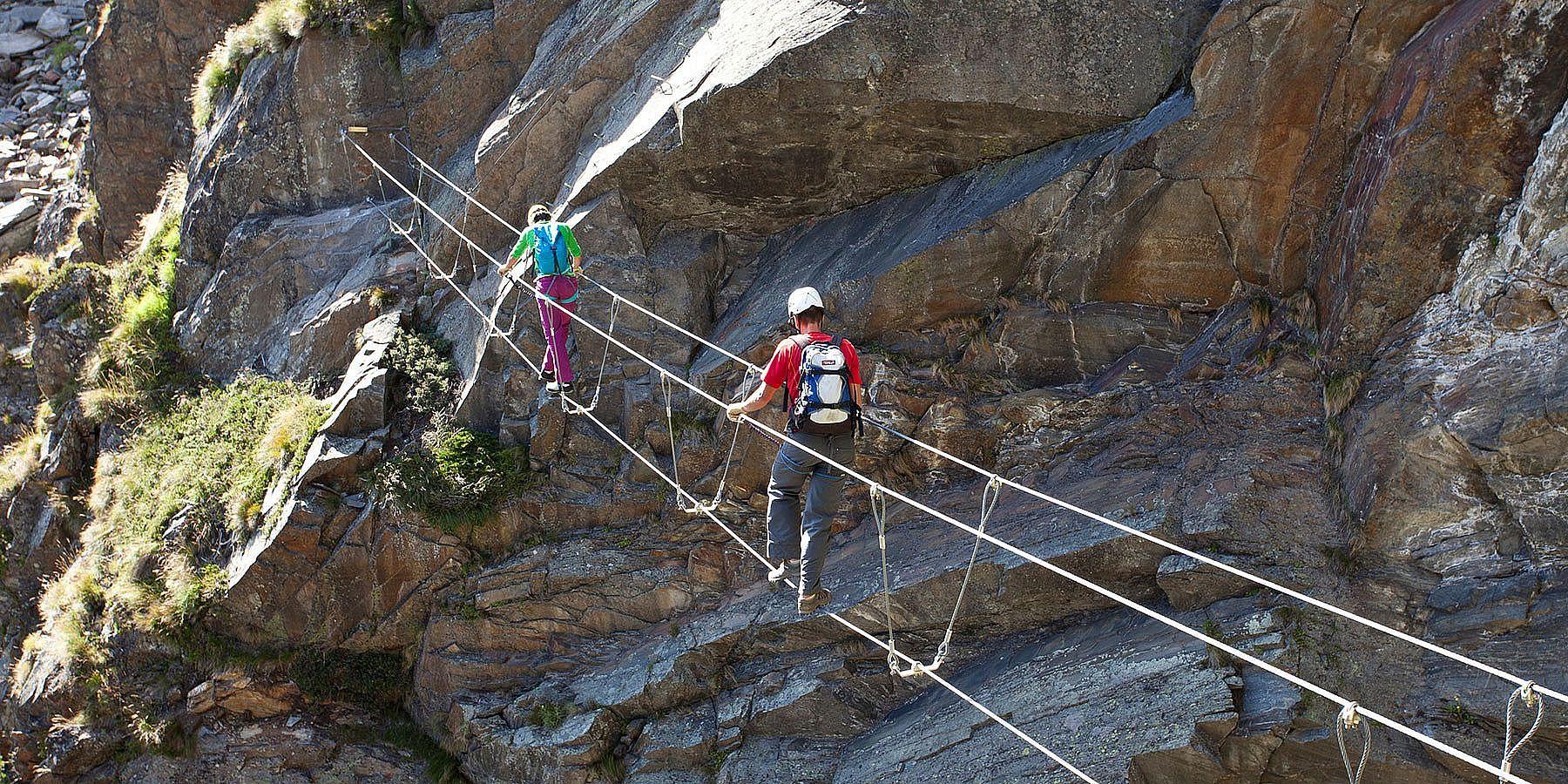 Klettersteig im Ötztal