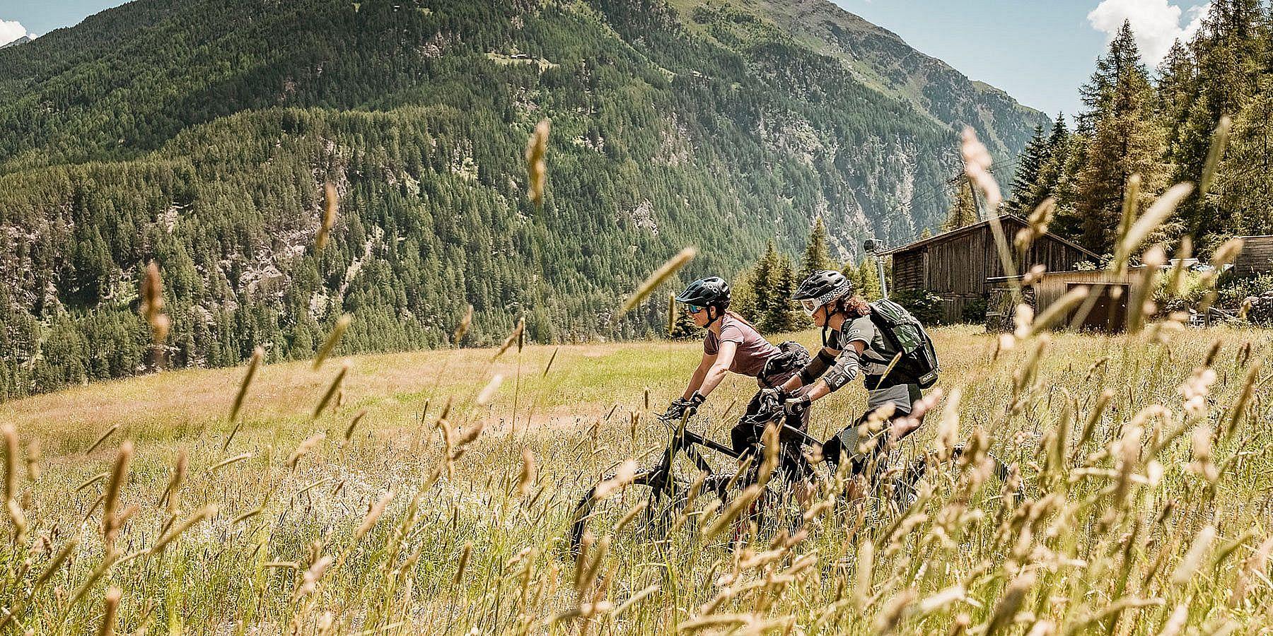 Radfahren in Sölden